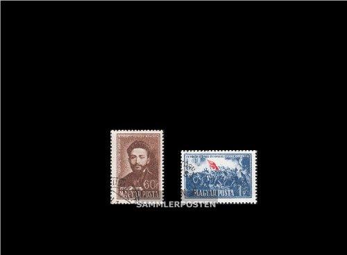 Ungarn 1163-1164 (kompl.Ausg.) gestempelt 1951 Pariser Kommune (Briefmarken für Sammler)