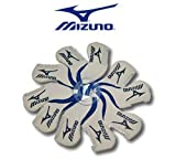 10pc set Mizuno Logo White Neoprene Golf Iron HeadCovers with Clear PVC Window