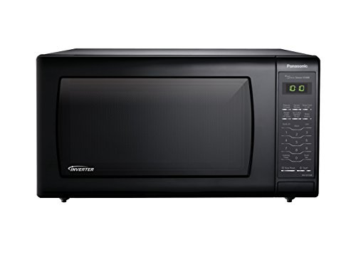 Panasonic NN-SN736B Black 1.6 Cu. Ft. Countertop Microwave Oven with Inverter Technology (Microwave Inverter Oven compare prices)
