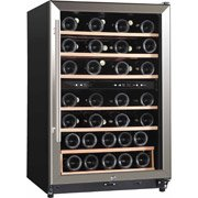 Midea Whs-168We(N) 45-Bottle Wine Cooler, Stainless Steel