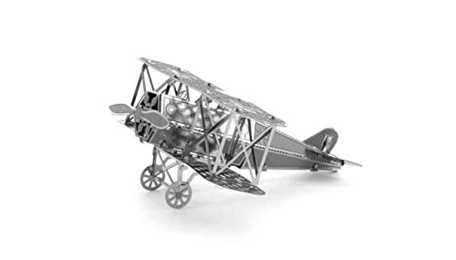 Fascinations Metal Earth Fokker D-VII Airplane 3D Metal Mode
