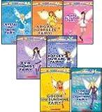 The Weather Fairies Complete Set, Books 1-7: Crystal the Snow Fairy, Abigail the Breeze Fairy, Pearl the Cloud Fairy, Goldie the Sunshine Fairy, Evie the Mist Fairy, Storm the Lightning Fairy, and Hayley the Rain Fairy (Rainbow Magic)