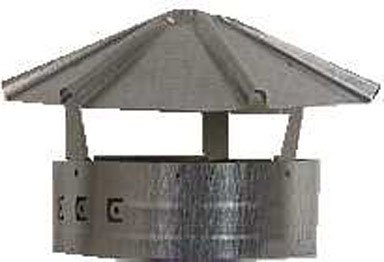 "Simpson Duravent Pellet Stove Vent Adapter Insulated From 3 ""To 4 ""Vertical front-629445"