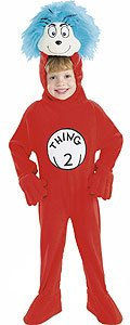 Thing 2 Cat in the Hat Child Costume