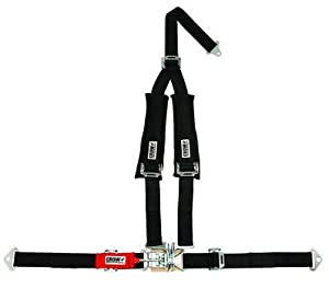Crow 2 Inch 4 Point Safety Harness Seat Belt with Sewn in Pads