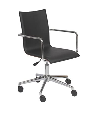 Euro Style Madge Office Chair, Black