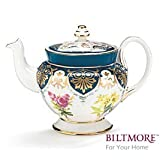 Vanderbilt Porcelain Teapot From Biltmore House Collection Beautiful Collectibleby Burton & Burton