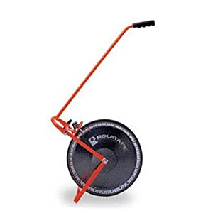 Rolatape 32-415E 15-1/2-Inch Solid Single Measuring Wheel Feet with Extended Handle
