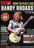 echange, troc Guitar World: How to Play Like Randy Rhoads [Import USA Zone 1]