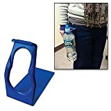HIP-Clip Bottle Holder For Standard-Size Bottles, Blue, 1-Pack
