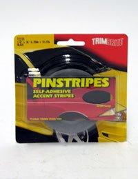 Trimbrite T1214 Trim Stripe 1/4 Pin Black