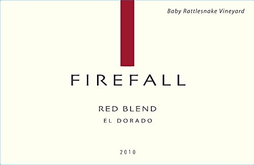 2010 Firefall El Dorado County Baby Rattlesnake Vineyard Red Blend 750 Ml
