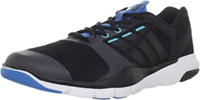 adidas Men's A.T. 270 Cross-Training Shoe,Black1/Black1/Craft Blue,6.5 M US