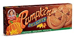 Little Debbie Pumpkin Delights Filled Cookies, 9.8 Ounce (Pack of 6)