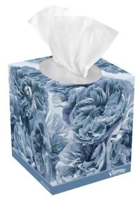 Kleenex Ultra Soft facial tissues stops sneezes in their tracks with thick, absorbent face tissues