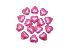 pink-foil-covered-chocolate-hearts-x-100