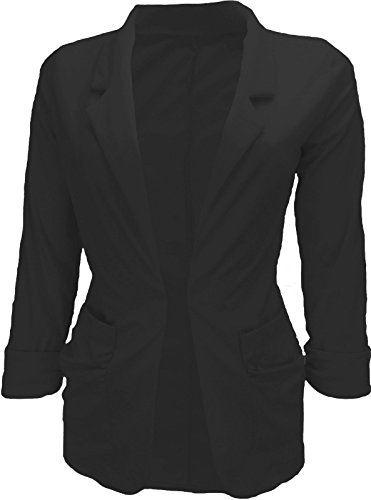 Glamour Fashion Ladies New Fashion Blazer Jacket Spring Smart Casual Fitted - Five Sizes from 8 to 16