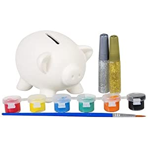 Grafix make your own piggy bank toys games for Create your own piggy bank