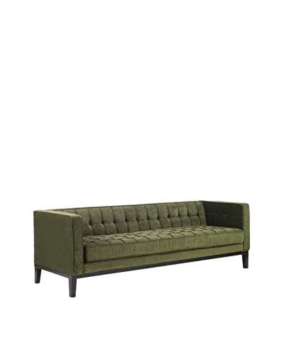 Armen Living Roxbury Sofa, Green