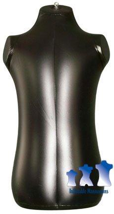 Inflatable Mannequin, Toddler Torso, Black
