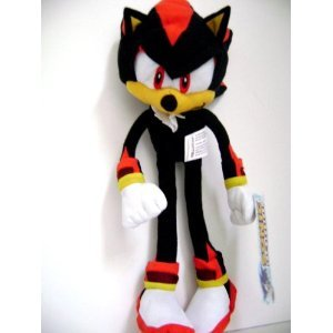 Sega Sonic The Hedgehog X Shadow Plush Doll Stuffed Toy 12 inches