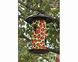 Toland Home Garden Ladybugs 14.5 x 9.5-Inch Decorative 4-Port Hanging Art Wild Bird Seed Feeder 202046