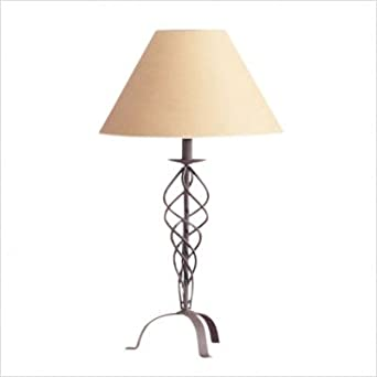 Cal Lighting BO-383- 3 way wrought iron table lamp150W
