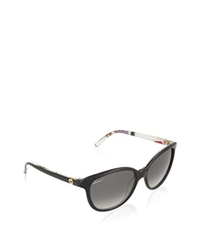 Gucci Women's GG3633 Sunglasses, Black Floral Crystal