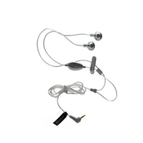 2.5Mm Stereo Handsfree Headset Headphone Earbud Earpiece For Verizon Casio Gzone Ravine 2