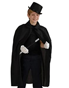 Child's Black Magic Cape, Standard or One Size from US Toy