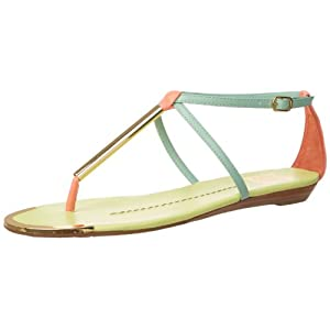 DV By Dolce Vita Women's Archer Thong Sandal,Mint Multi Stella,7.5 M US