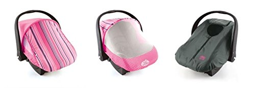 Cozy Combo Pack - Pink Sun & Bug Cover & Lightweight Cozy Cover front-30916