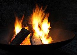 Cast-iron Fire Pit Brazier Cast-iron Fire Bowl Brazier