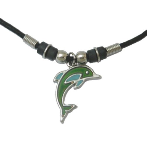 Mood Pendant Necklace - Dolphin