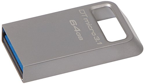 Kingston DTMC3/64GB USB-Stick silber
