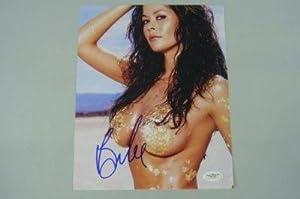 Amazon.com : Brooke Burke Wild On! Signed Auth Sexy 8x10