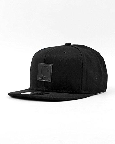 CARHARTT Uomo Cappelli/Cappello Logo Starter cappello - Nero, Taglia unica