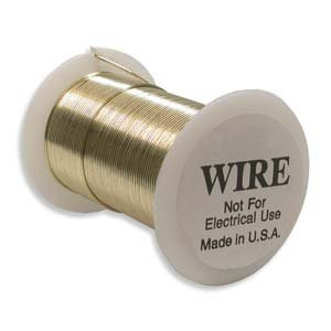 Craft Wire Gold Color Non-Tarnish 18 GAUGE 10 YARD