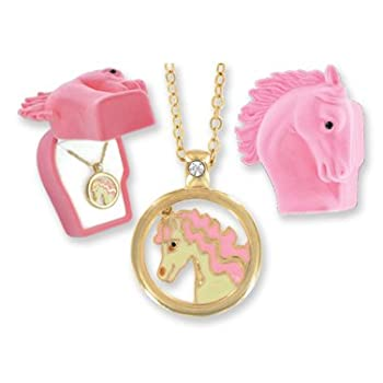 Set A Shopping Price Drop Alert For Pretty Pony Pendant in Pink Horse Gift Box