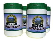 SPIRULINA POWDER 4lb (4 1lb jars)