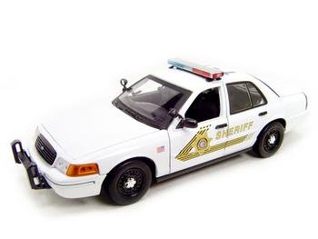 Buy Ford San Bernardino Police Car Diecast Model 1:18 Die Cast Car
