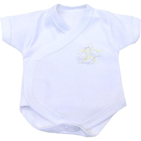 Premature Early Baby Clothes Wrapover SCBU Bodysuit / Vest 1.5 - 5.5lb - 3 Colours, 2 Sizes