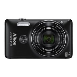 Nikon-Coolpix-S6900-Camera-Black-with-16-MP-12x-Optical-Zoom-8GB-SDHC-HDMI-Cable-Case