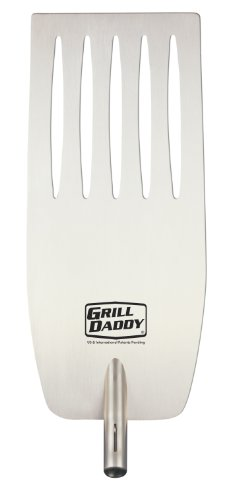 Grill Daddy Slider Flipper Attachment for Heat Shield BBQ Tools; Premium Dishwasher Safe Stainless Steel (Dishwasher Slider compare prices)