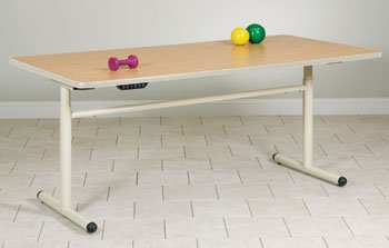 Clinton Group Therapy Tables Electric Lift 66X48(Maple) Item# 77-42Em