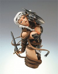 Queens Blade PVC Figure Set of 3 (Random Color)