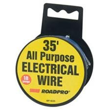 Roadpro Rp1835 Blue 35' 18-Gauge All Purpose Electrical Wire