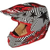2012 Fly Racing Formula Helmet - Clash (SMALL) (RED/BLACK)
