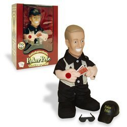 Poker Pete Talking Doll - What'll He Say Next? by Trademark Global