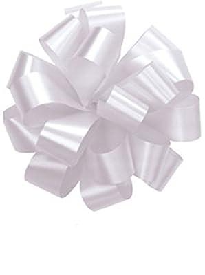 Pom Pom - Pull Out Bows 5 Inch White
